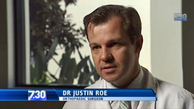 7:30 Report - Dr Justin Roe